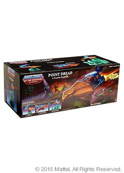 Masters of the Universe® Point Dread & Talon Fighter Set