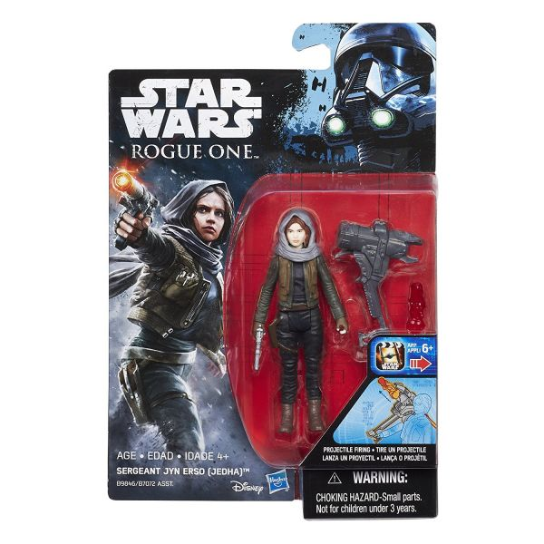 Star Wars Rogue One Sergeant Jyn Erso (Jedha) 10cm Actionfigur