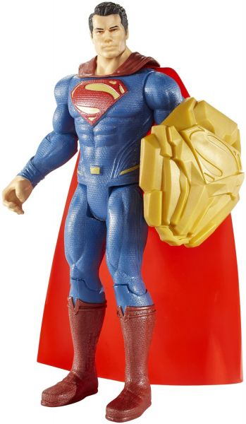 BATMAN VS SUPERMAN 15cm SHIELD CLASH SUPERMAN ACTIONFIGUR
