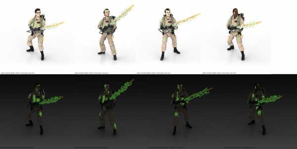 VORBESTELLUNG ! Ghostbusters Plasma Series 2021 Glow-in-the-Dark 15 cm Actionfiguren 4-er Set