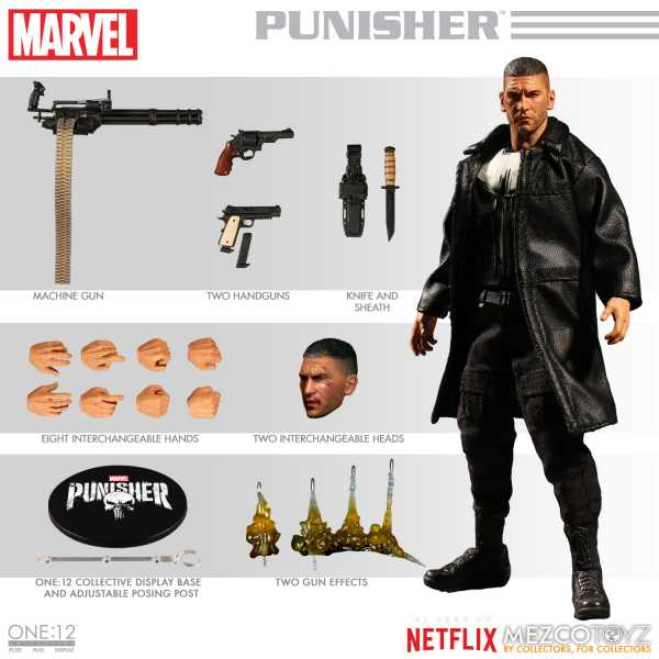 ONE-12 COLLECTIVE MARVEL NETFLIX PUNISHER ACTIONFIGUR
