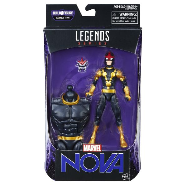 MARVEL LEGENDS GUARDIANS OF THE GALAXY 2 Nova ACTIONFIGUR
