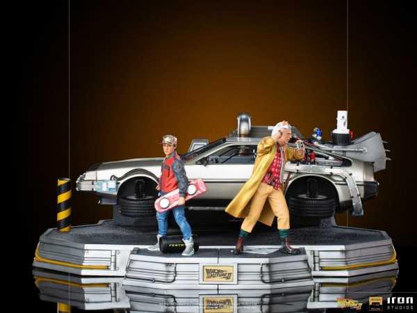 AUF ANFRAGE ! Zurück in die Zukunft II 1/10 Deluxe 58 cm Art Scale Statuen Full Set