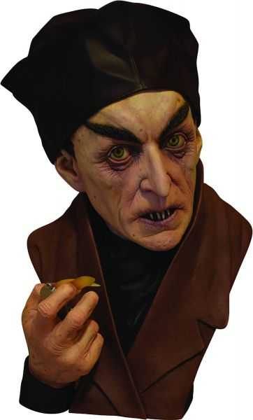 CLASSIC NOSFERATU LIMITED EDITION LIFESIZE PAINTED BÜSTE