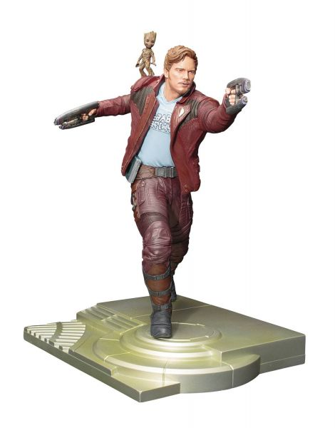 GUARDIANS OF THE GALAXY V2 STAR-LORD & GROOT ARTFX STATUE