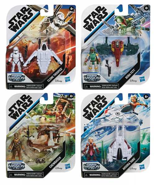 VORBESTELLUNG ! STAR WARS MISSION FLEET MICRO VEHICLE SET