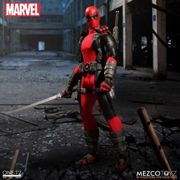 ONE-12 COLLECTIVE MARVEL DEADPOOL ACTIONFIGUR