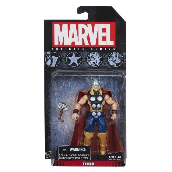 MARVEL INFINITE SERIES THOR 10cm ACTIONFIGUR