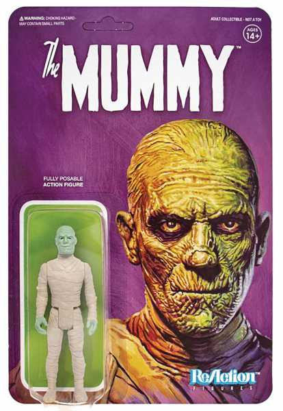 UNIVERSAL MONSTERS MUMMY REACTION ACTIONFIGUR
