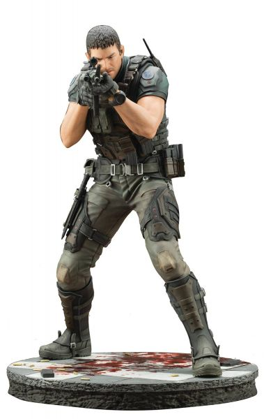 RESIDENT EVIL VENDETTA CHRIS REDFIELD ARTFX STATUE