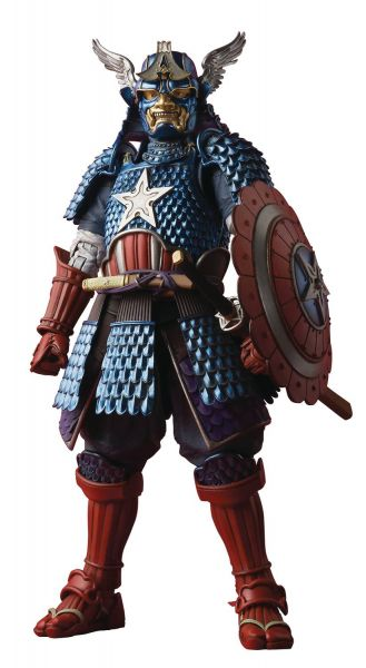 MANGA REALIZATION MARVEL SAMURAI CAPTAIN AMERICA ACTIONFIGUR