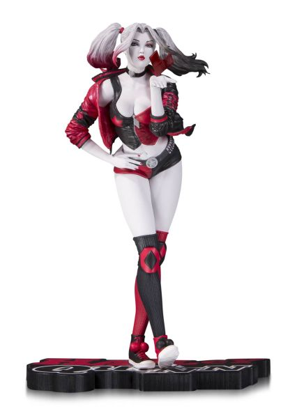 HARLEY QUINN RED WHITE & BLACK BY STANLEY LAU STATUE