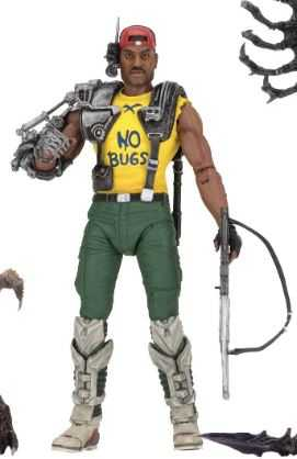 ALIENS SPACE MARINE SGT. APONE ACTIONFIGUR