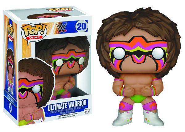POP WWE ULTIMATE WARRIOR VINYL FIGUR defekte Verpackung
