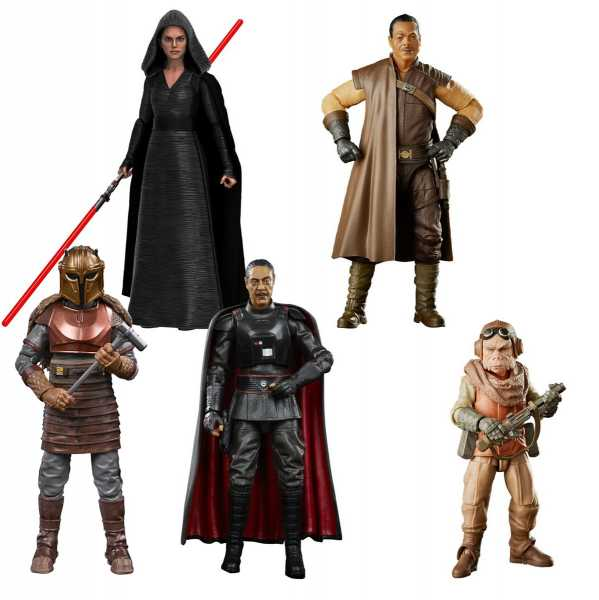 Star Wars The Black Series Wave 3 6 Inch Actionfiguren Komplett-Set