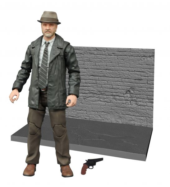 GOTHAM SELECT BULLOCK ACTIONFIGUR