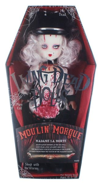 LIVING DEAD DOLLS SERIES 33 MOULIN MORGUE: MADAME LA MORTE PUPPE