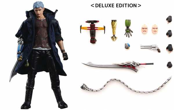 DEVIL MAY CRY 5 NERO PX DELUXE VERSION 1/12 SCALE ACTIONFIGUR