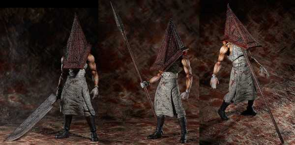 VORBESTELLUNG ! Silent Hill 2 Red Pyramid Thing 20 cm Figma Actionfigur