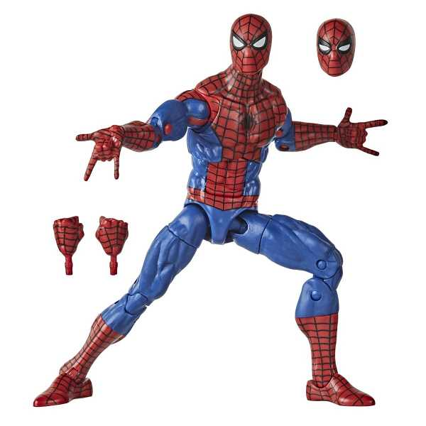 Spider-Man Retro Marvel Legends Spider-Man 6 Inch Actionfigur