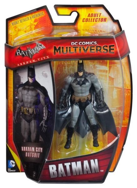 DC MULTIVERSE 10cm ARKHAM CITY BATMAN ACTIONFIGUR