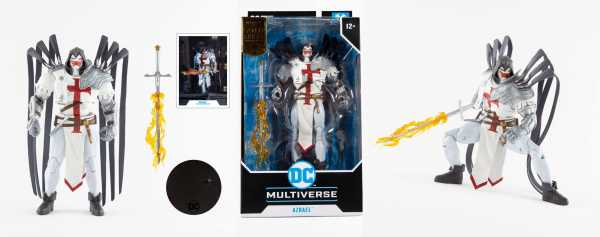 VORBESTELLUNG ! DC Multiverse Azrael Suit of Sorrows (Gold Label) 18 cm Actionfigur