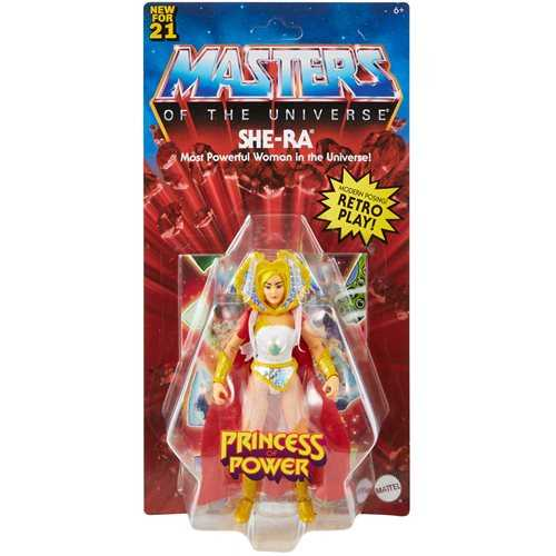 VORBESTELLUNG ! Masters of the Universe Origins She-Ra Actionfigur US Version