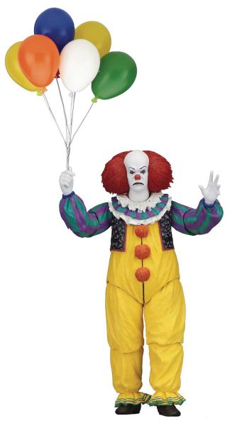 IT 1990 PENNYWISE ULTIMATE ACTIONFIGUR
