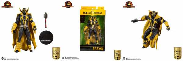 Mortal Kombat Spawn (Curse of Apocalypse) (Gold Label Series) 18 cm Actionfigur