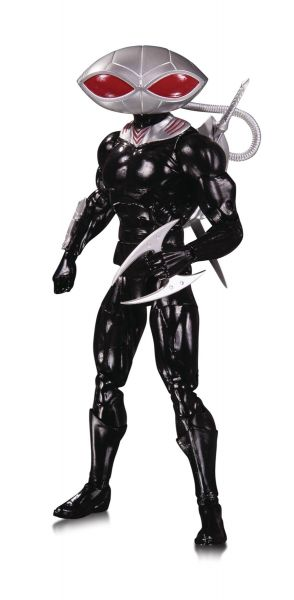DC ESSENTIALS BLACK MANTA ACTIONFIGUR