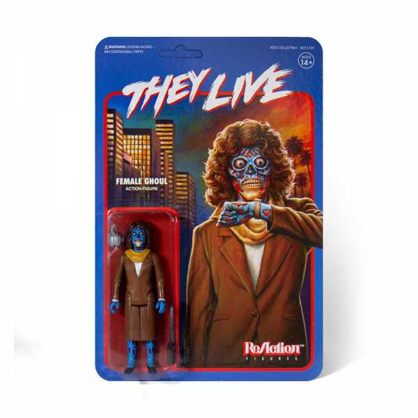 VORBESTELLUNG ! THEY LIVE FEMALE GHOUL REACTION FIGURE
