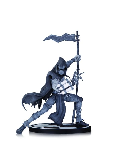 BATMAN BLACK AND WHITE STATUE SCARECROW BY DANDA