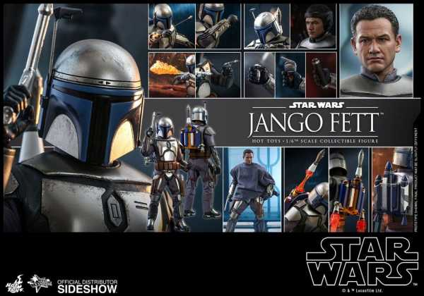 VORBESTELLUNG ! Star Wars Episode II Movie Masterpiece 1/6 Jango Fett 30 cm Actionfigur