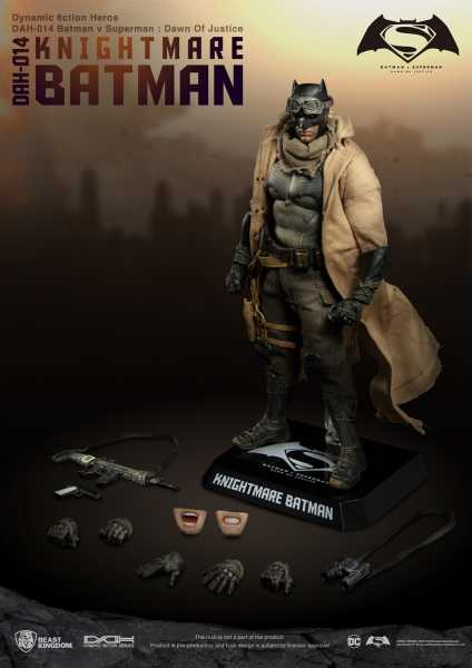 BVS DAH-014 DYNAMIC 8-CTION KNIGHTMARE BATMAN Actionfigur