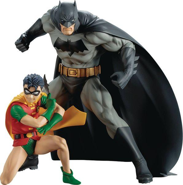 DC COMICS BATMAN & ROBIN ARTFX+ STATUE 2-PACK