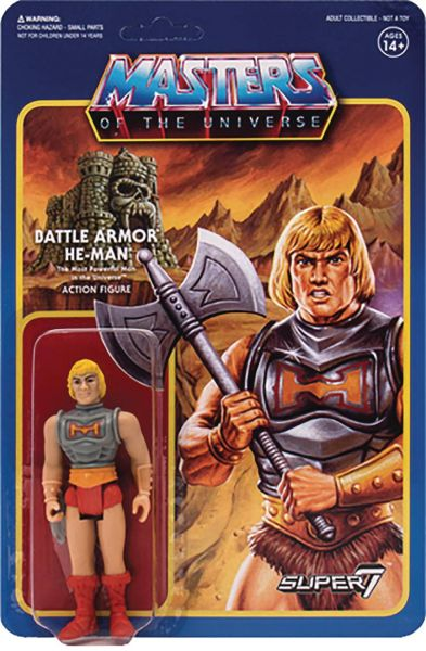 MASTERS OF THE UNIVERSE WAVE 3 BATTLE ARMOR HE-MAN 10 cm ACTIONFIGUR
