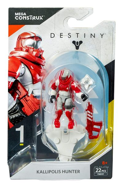 MEGA CONSTRUX DESTINY HEROES KALLIPOLIS HUNTER ACTIONFIGUR