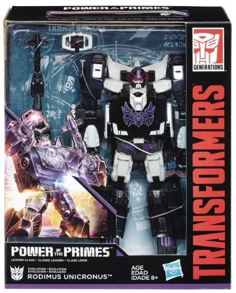 TRANSFORMERS GENERATIONS POWER OF THE PRIMES LEADER CLASS RODIMUS UNICRONUS ACTIONFIGUR