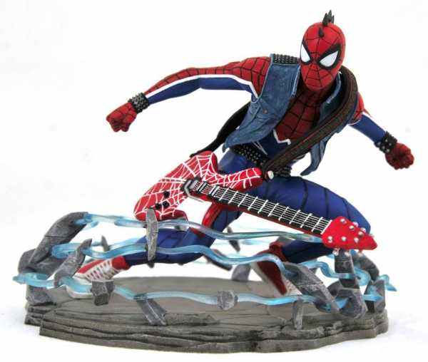 Marvel Gallery Spider-Man Video Game 2018 Spider-Punk Exclusive 18 cm PVC Statue