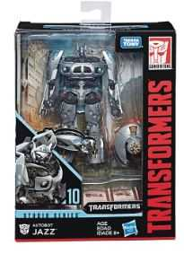 TRANSFORMERS GENERATIONS STUDIO SERIES DELUXE JAZZ ACTIONFIGUR