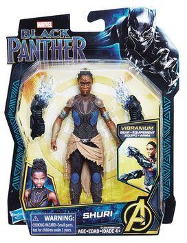 BLACK PANTHER 15 cm SHURI ACTIONFIGUR