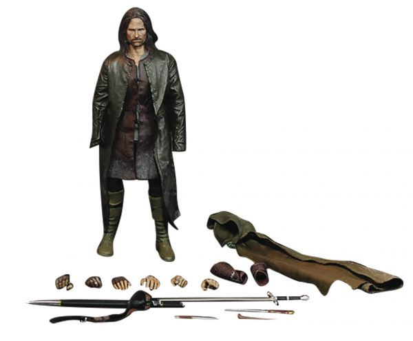 LORD OF THE RINGS ARAGORN SLIM SERIES 1/6 ACTIONFIGUR