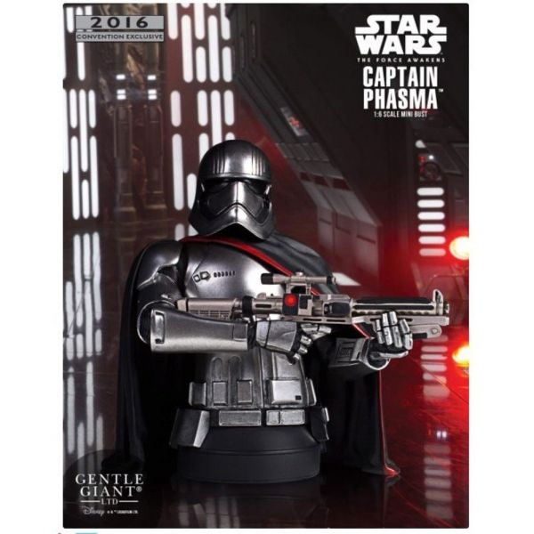 SDCC 2016 STAR WARS EPISODE 7 CAPTAIN PHASMA MINI-BÜSTE
