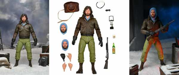VORBESTELLUNG ! THE THING MACREADY OUTPOST 31 ULTIMATE 7 INCH ACTIONFIGUR