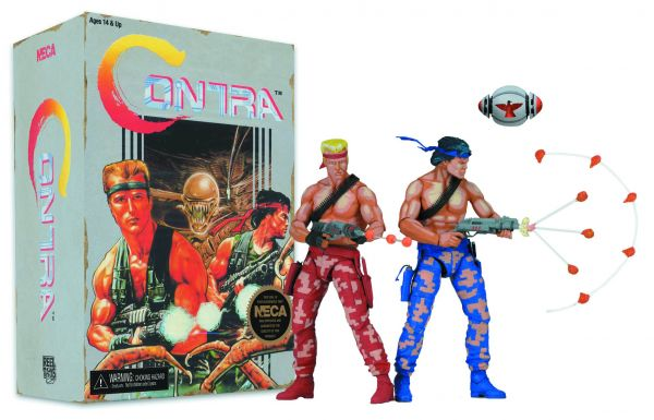 CONTRA BILL & LANCE 17,5 cm ACTIONFIGUREN 2-PACK