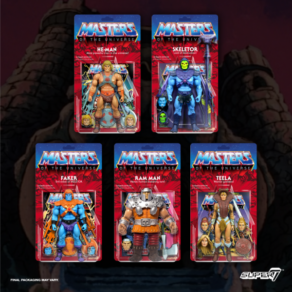 Masters of the Universe Ultimate ACTIONFIGUREN-SET