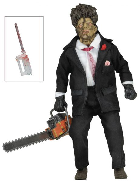 TEXAS CHAINSAW MASSACRE 2 20cm CLOTHED ACTIONFIGUR