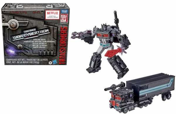 Transformers Generations WFC Trilogy Leader Nemesis Prime Exclusive Actionfigur Spoiler Pack