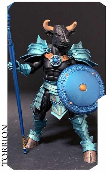 VORBESTELLUNG ! Mythic Legions All-Stars Torrion 15 cm Actionfigur