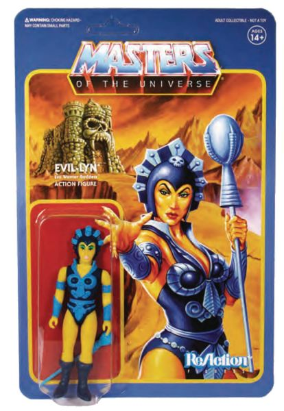MASTERS OF THE UNIVERSE 10 cm REACTION WAVE 4 EVIL-LYN ACTIONFIGUR